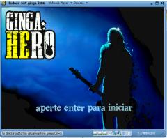 Screenshot in game GingaHero